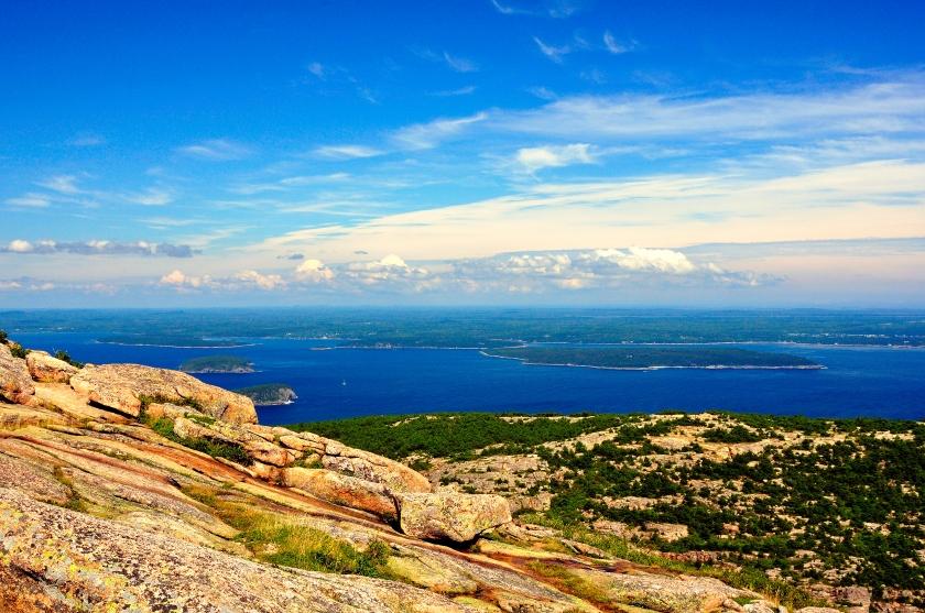 Cadillac Mountain, Acadia National Park, Maine | rayfausel